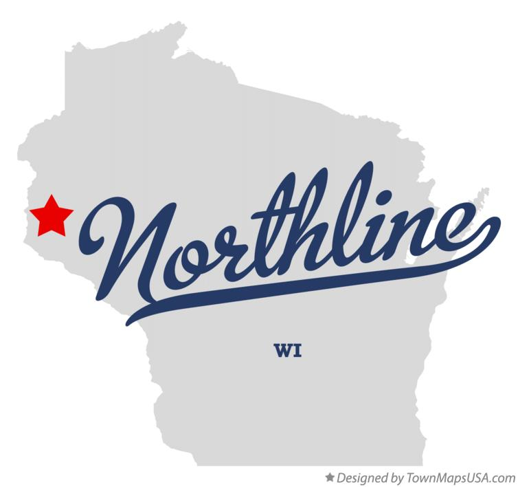 Map of Northline Wisconsin WI
