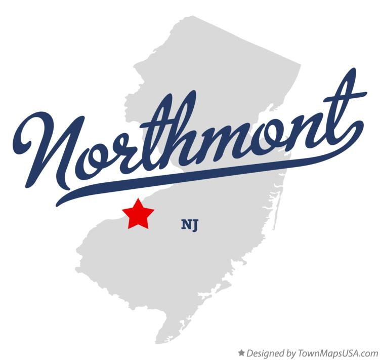Map of Northmont New Jersey NJ