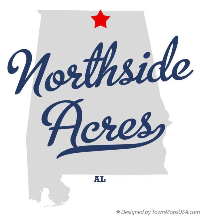 Map of Northside Acres Alabama AL