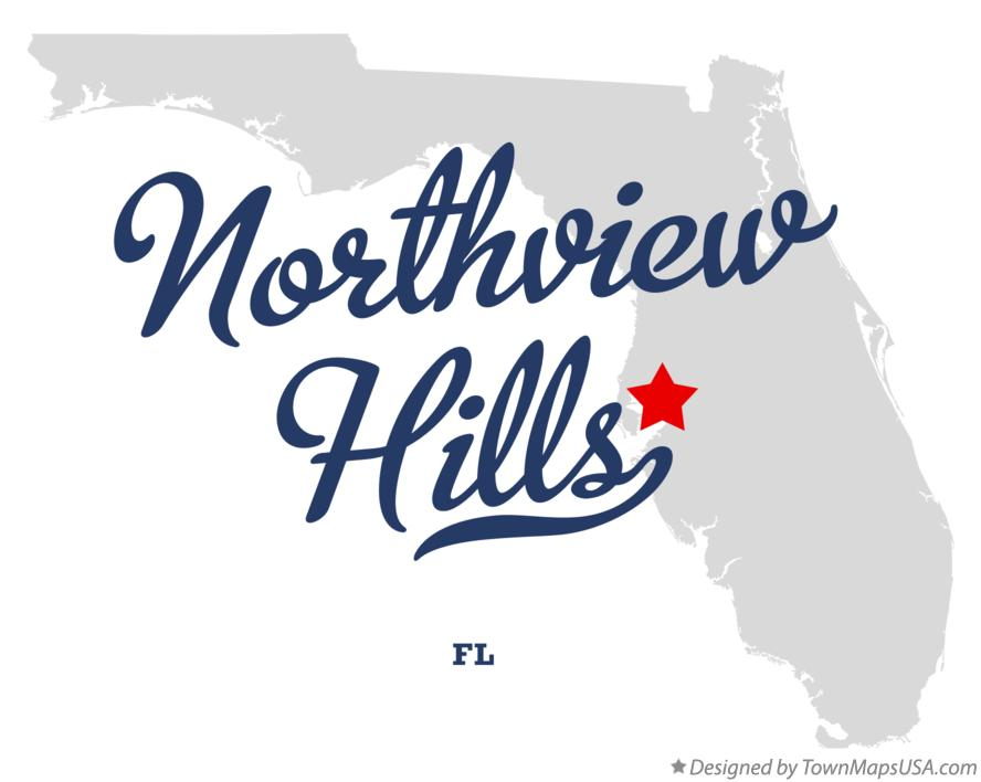 Map of Northview Hills Florida FL