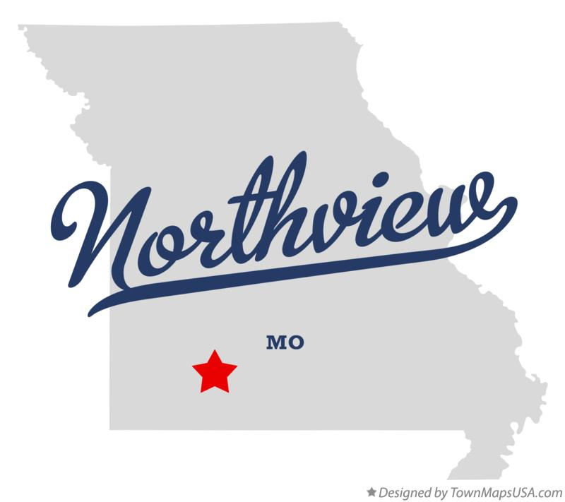 Map of Northview Missouri MO