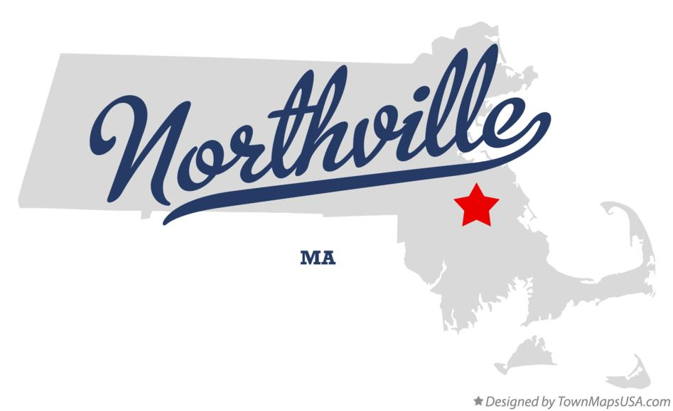 Map of Northville Massachusetts MA