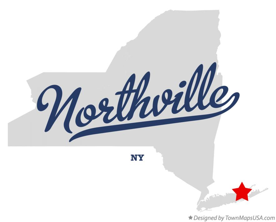 Map of Northville New York NY