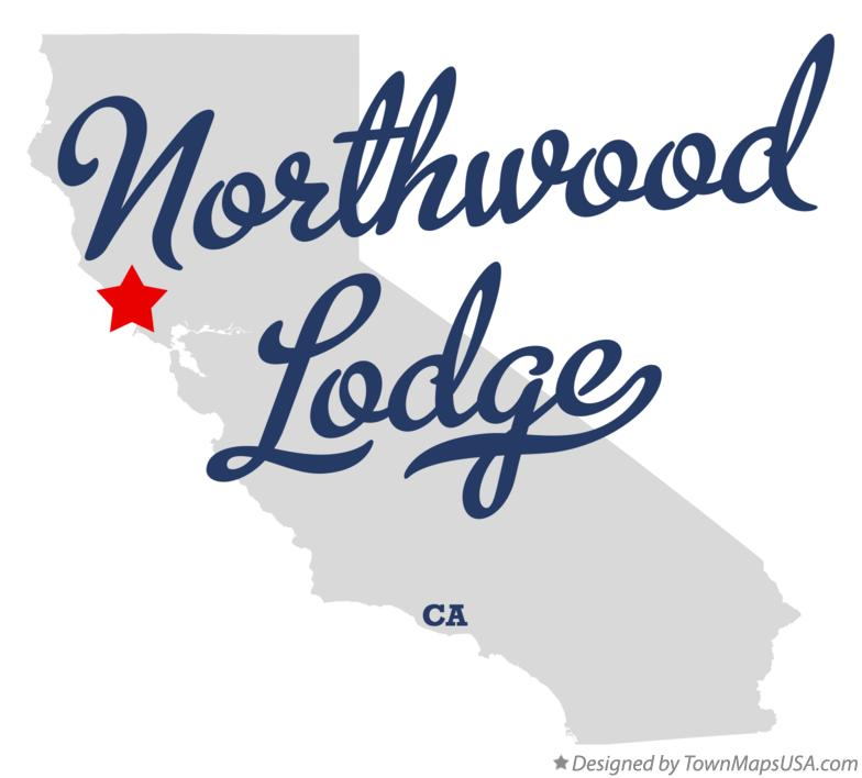 Map of Northwood Lodge California CA