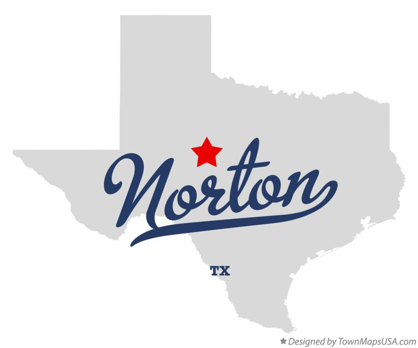 Map of Norton Texas TX
