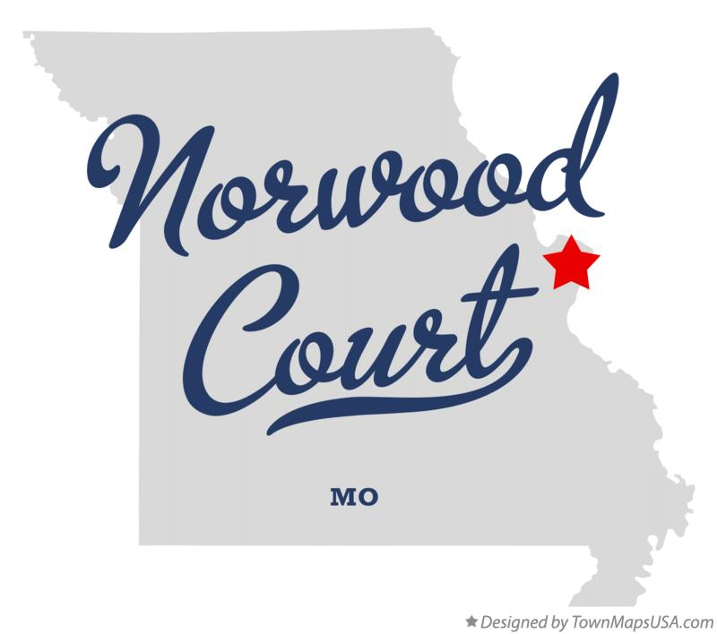 Map of Norwood Court Missouri MO