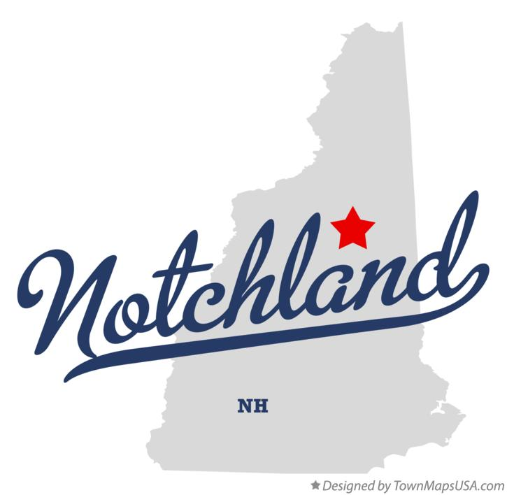 Map of Notchland New Hampshire NH