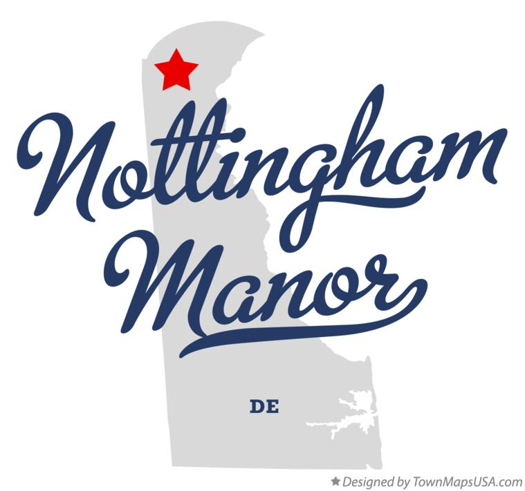 Map of Nottingham Manor Delaware DE