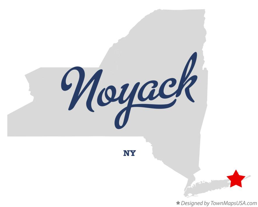 Map of Noyack New York NY
