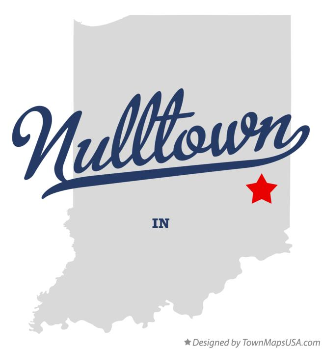 Map of Nulltown Indiana IN