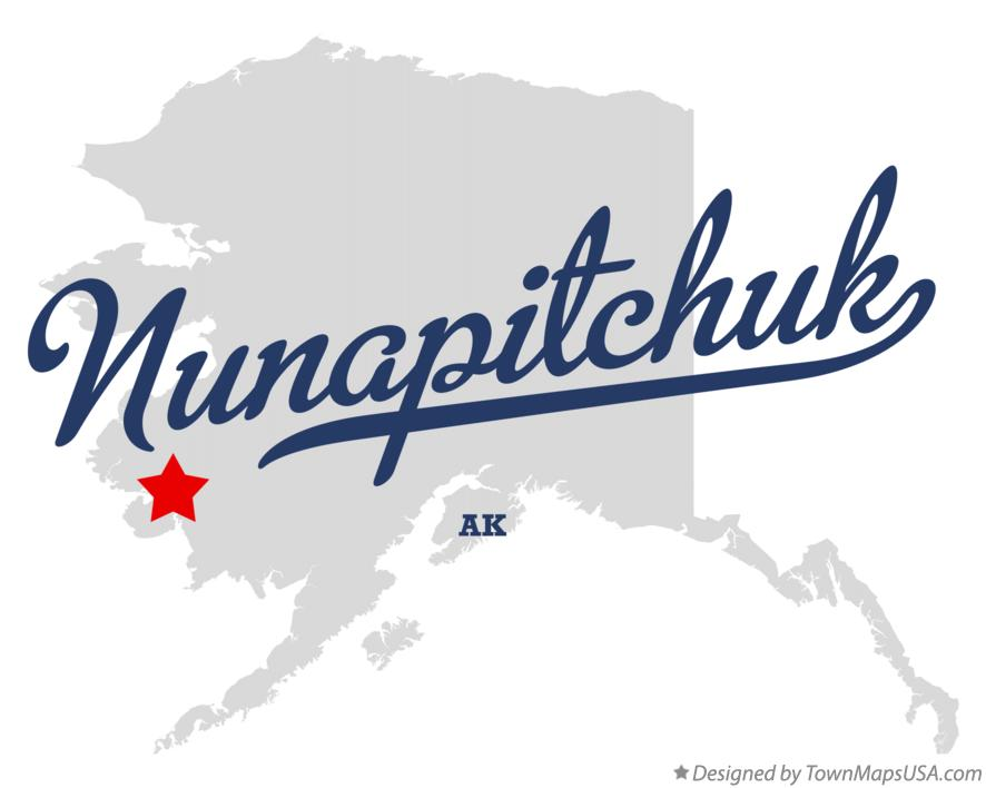 Map of Nunapitchuk Alaska AK