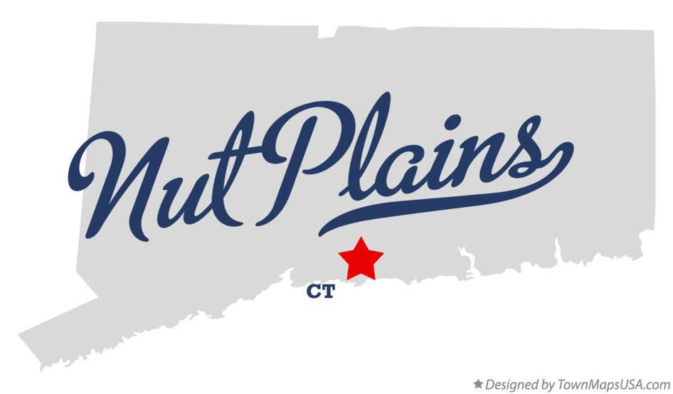 Map of Nut Plains Connecticut CT