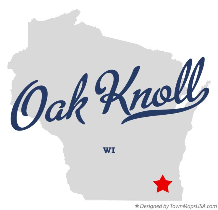 Map of Oak Knoll Wisconsin WI