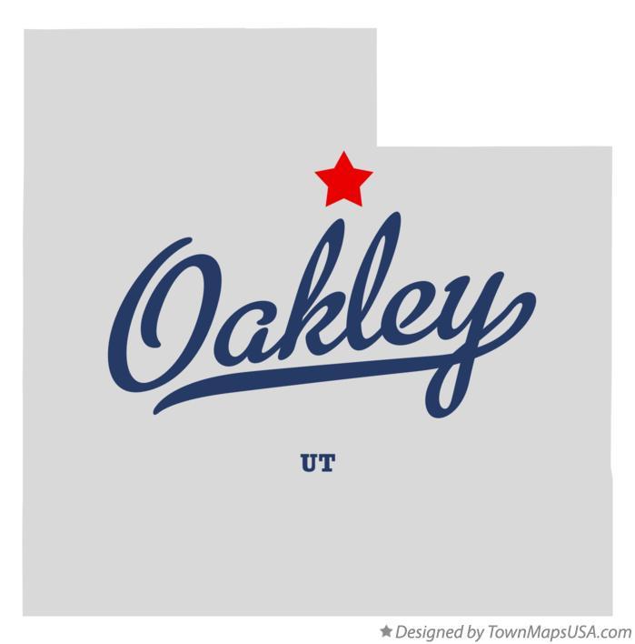 Oakley Utah Map.Map Of Oakley Ut Utah