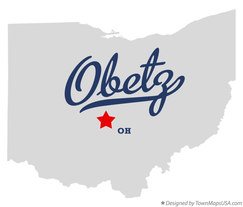 Map of Obetz Ohio OH