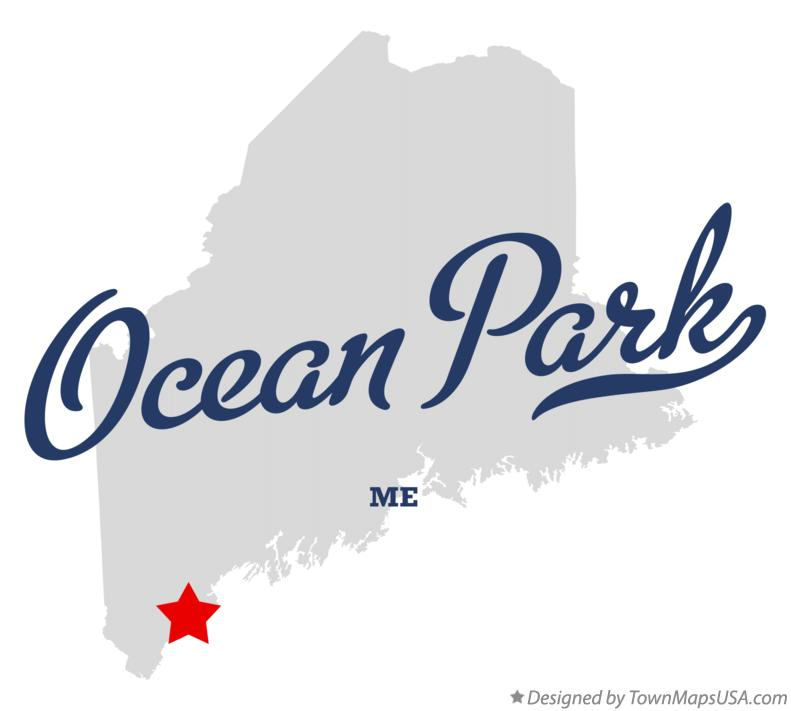 Map of Ocean Park Maine ME