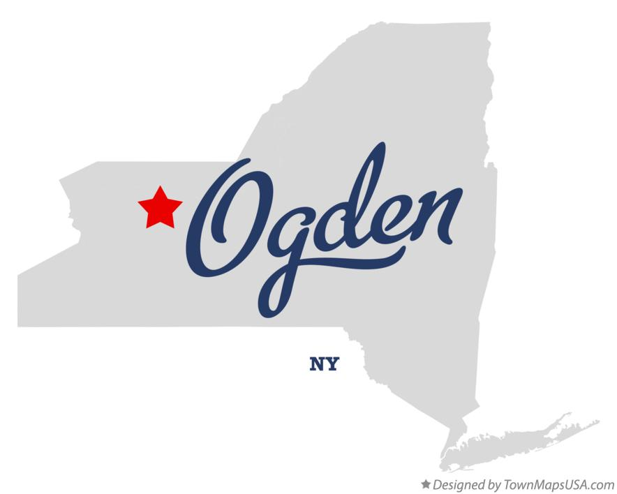 Map of Ogden New York NY