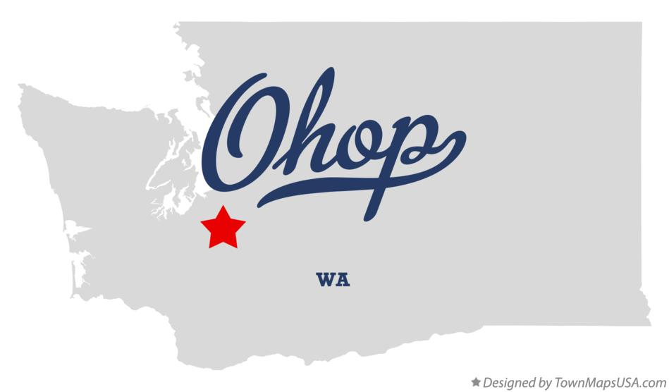 Map of Ohop Washington WA