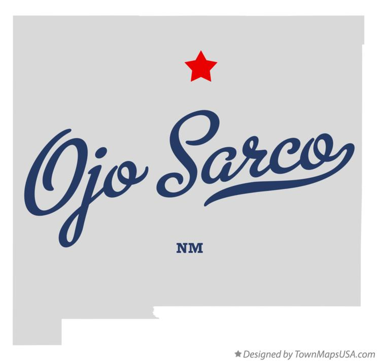 Map of Ojo Sarco New Mexico NM