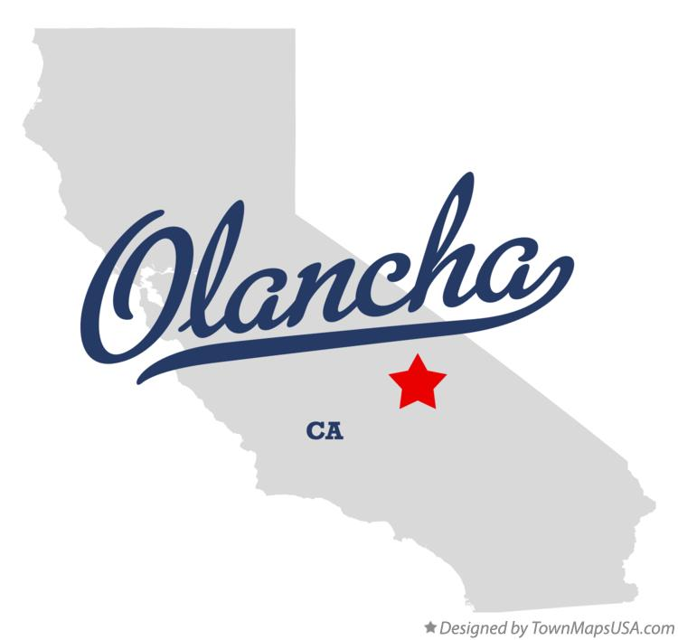 Map of Olancha California CA