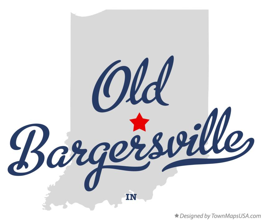 Map of Old Bargersville Indiana IN