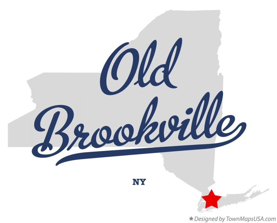 Map of Old Brookville New York