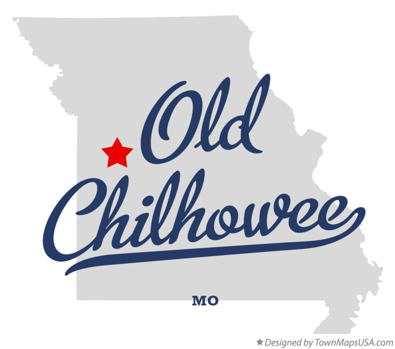 Map of Old Chilhowee Missouri MO