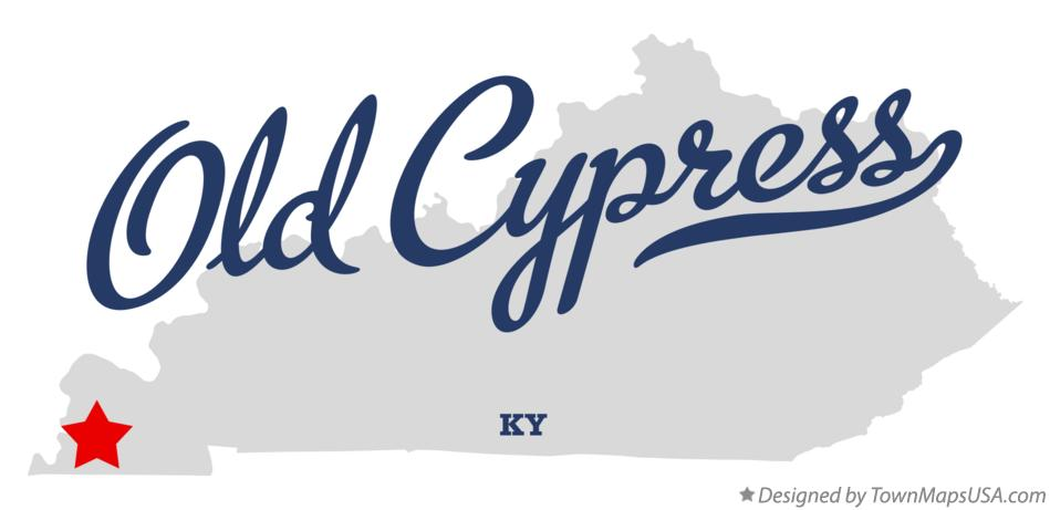 Map of Old Cypress Kentucky KY