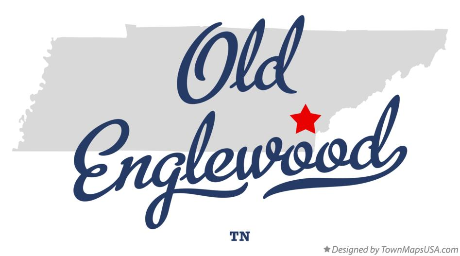 Map of Old Englewood Tennessee TN