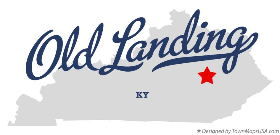 Map of Old Landing Kentucky KY
