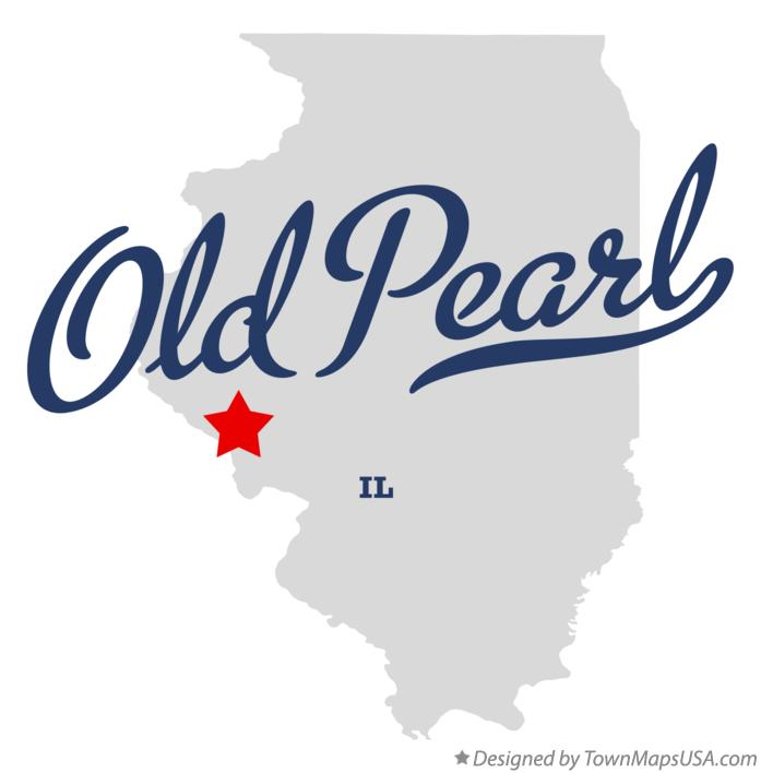 Map of Old Pearl Illinois IL