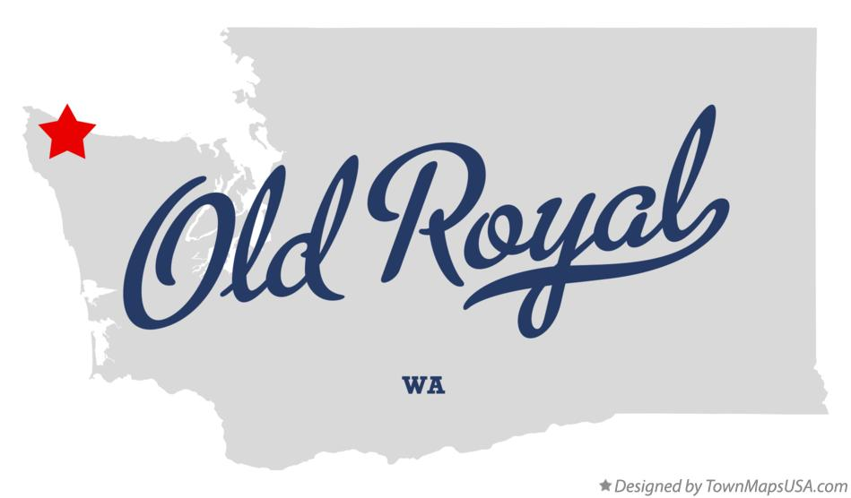 Map of Old Royal Washington WA