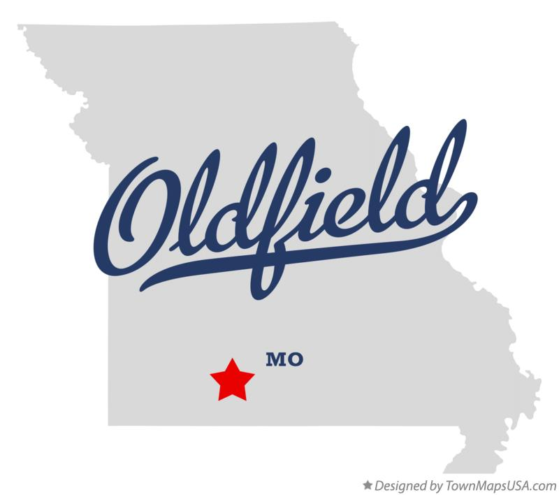 Map of Oldfield Missouri MO