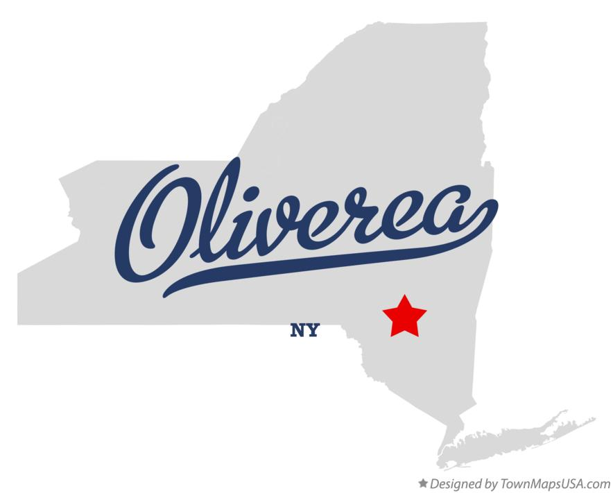 Map of Oliverea New York NY