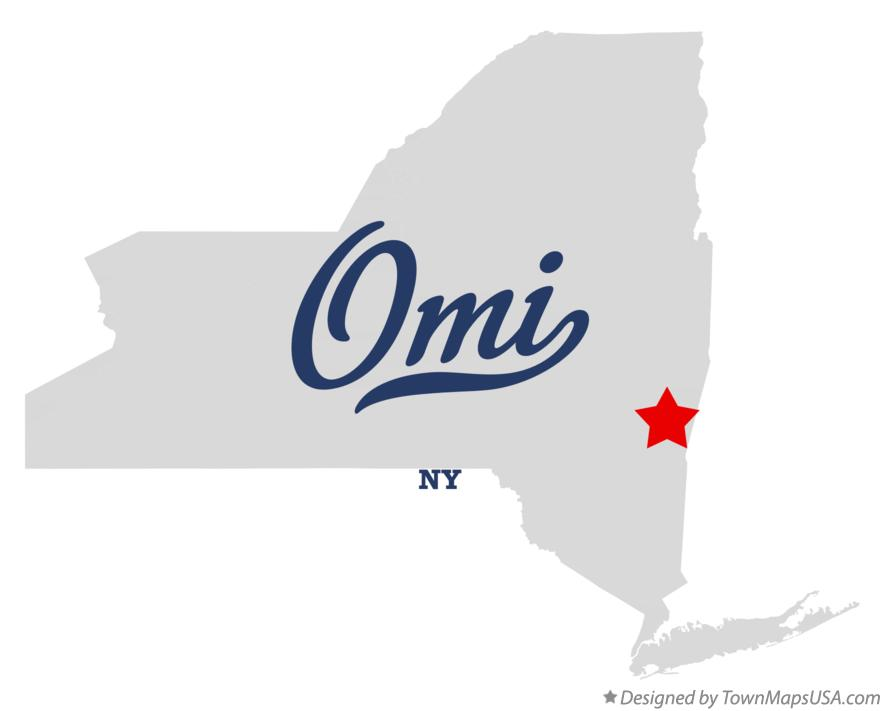 Map of Omi New York NY