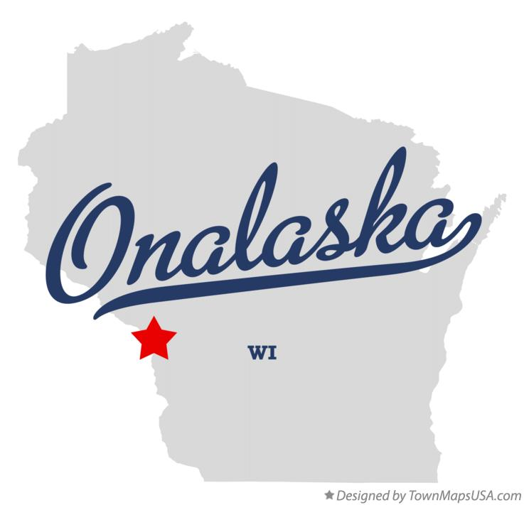 Map of Onalaska Wisconsin WI