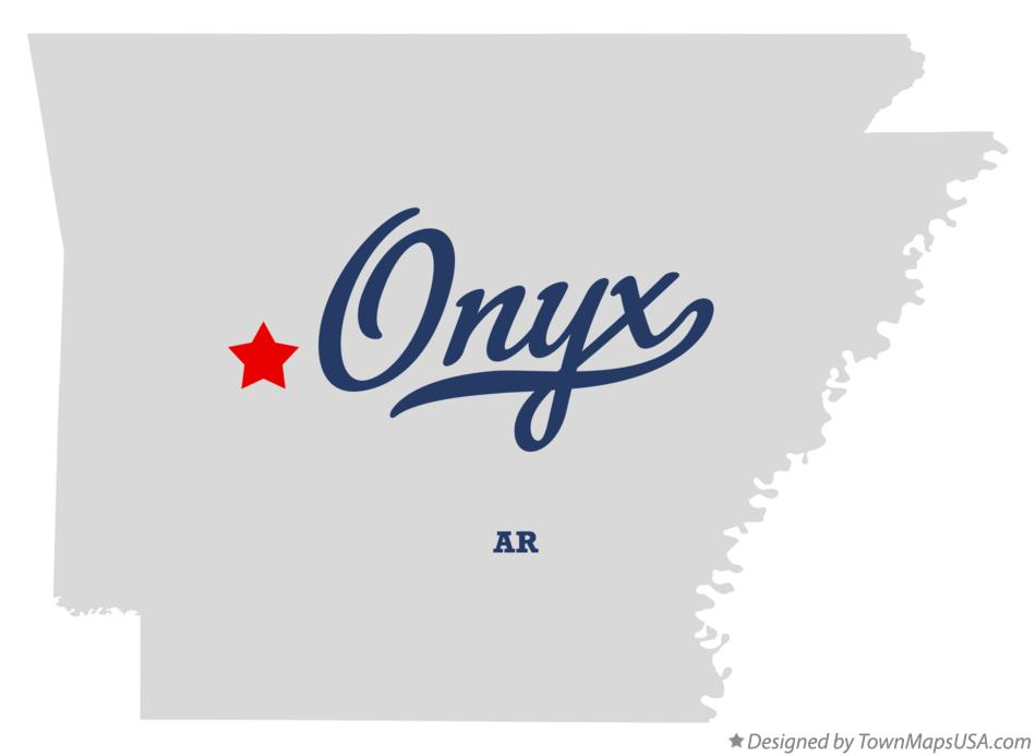 Map of Onyx Arkansas AR