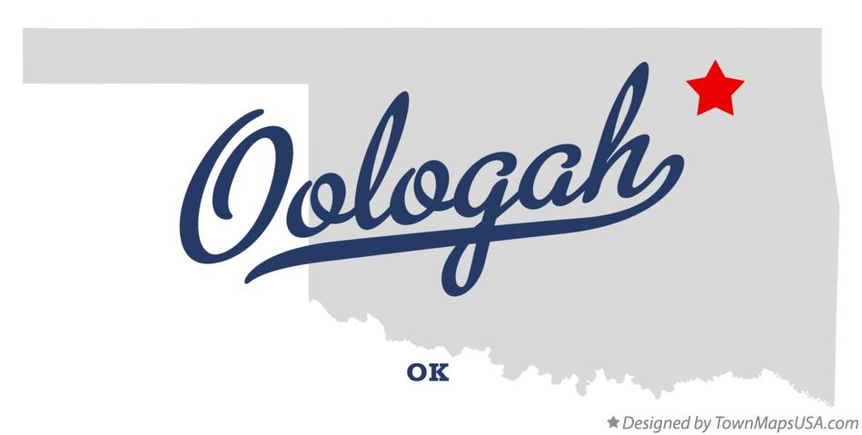 Map of Oologah Oklahoma OK