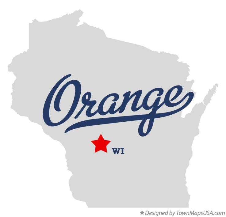 Map of Orange Wisconsin WI