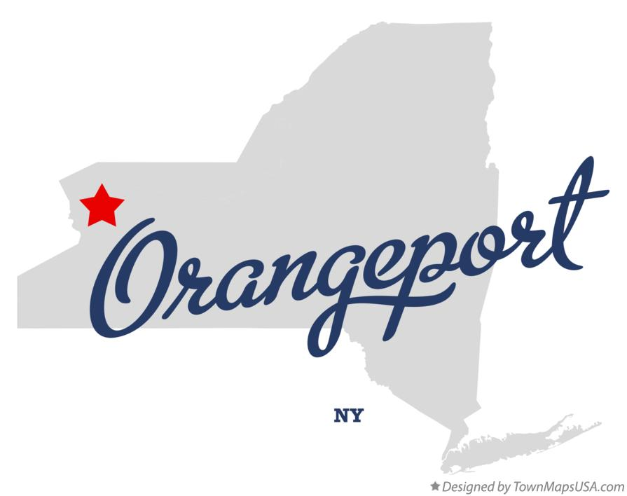 Map of Orangeport New York NY