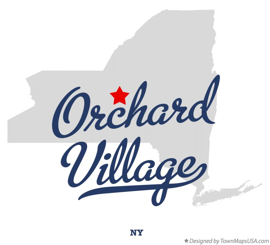 Map of Orchard Village New York NY