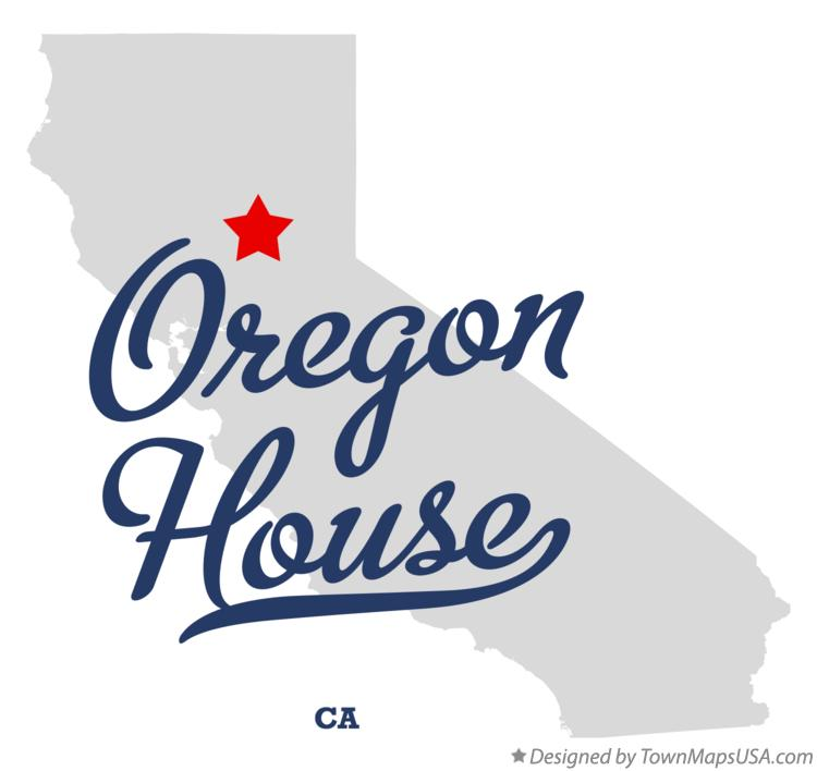 Map of Oregon House California CA