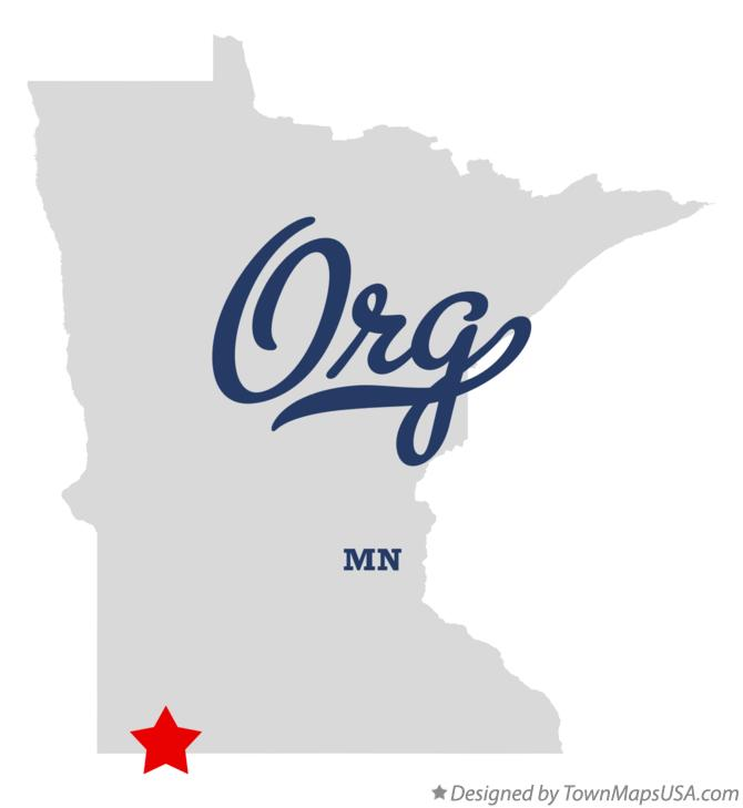 Map of Org Minnesota MN