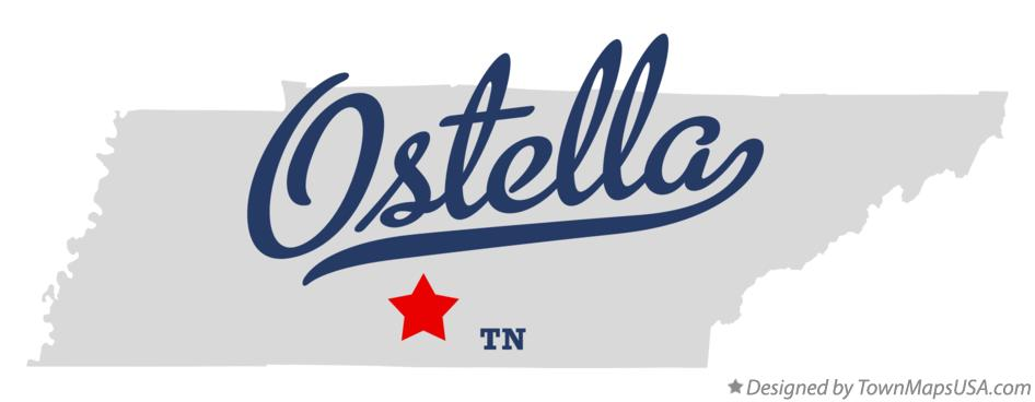 Map of Ostella Tennessee TN