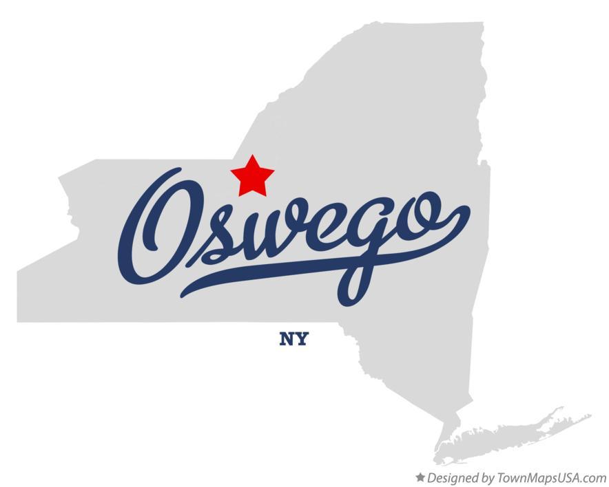 Map Of New York Oswego.Map Of Oswego Ny New York
