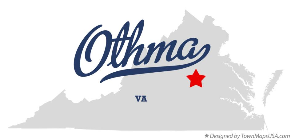 Map of Othma Virginia VA