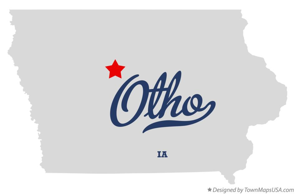 Map of Otho Iowa IA