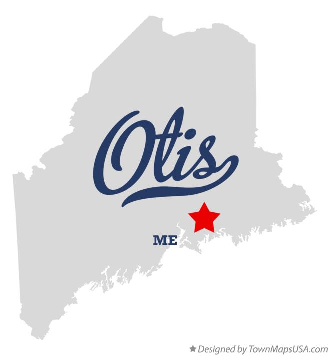 Map of Otis Maine ME