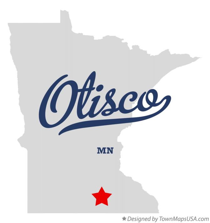 Map of Otisco Minnesota MN