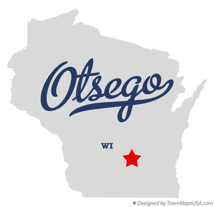 Map of Otsego Wisconsin WI